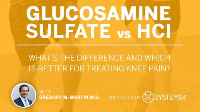 Glucosamine Sulfate Vs Glucosamine HCL. Which Works Better?