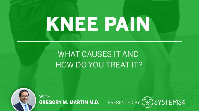 Knee Pain, What Causes It And How Do You Treat It?