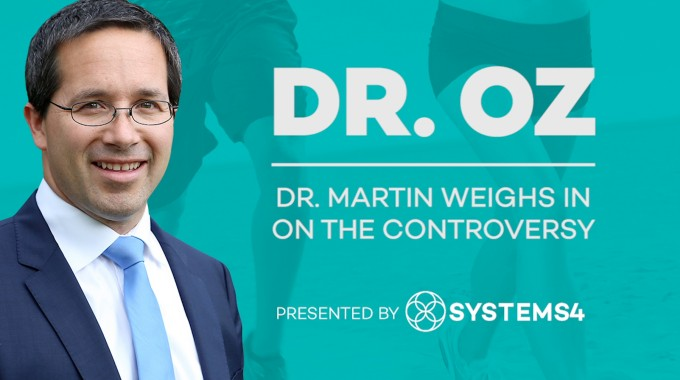 Dr. Martin Weighs In On Dr. Oz Controversy