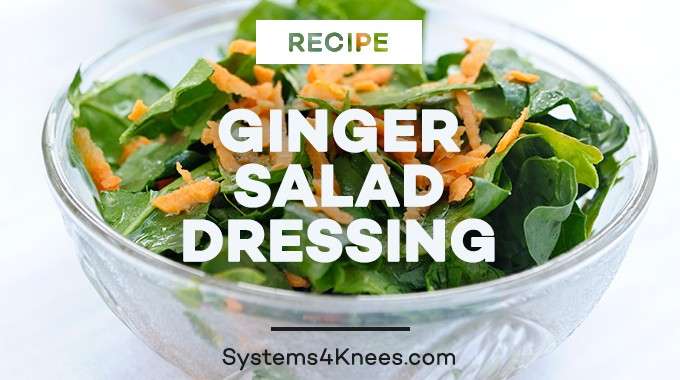Ginger Salad Dressing Recipe