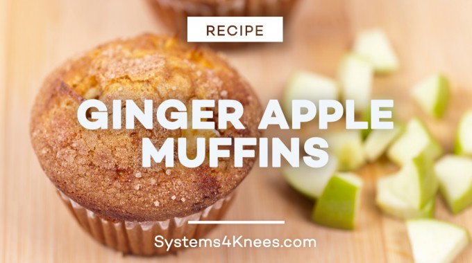 Ginger Apple Muffin Recipe