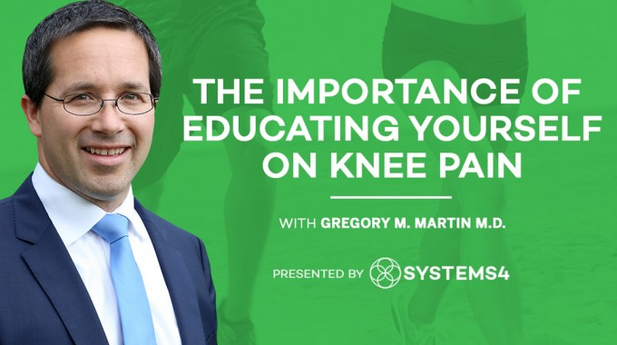 The Importance Of Educating Yourself On Knee Pain
