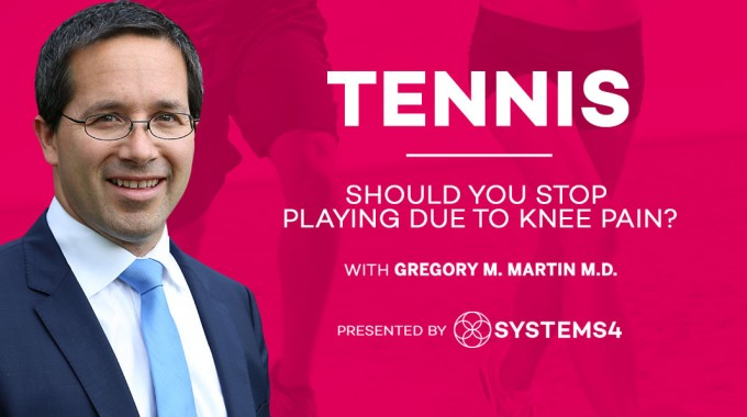 Should You Play Tennis If You Have Knee Pain?
