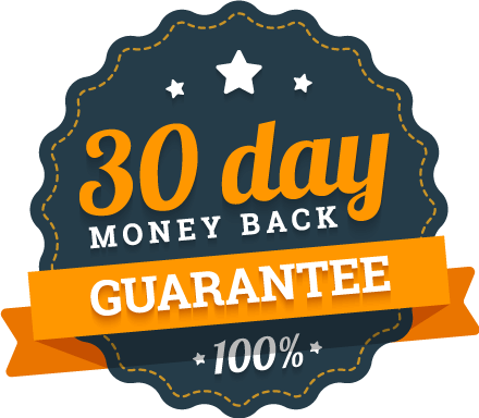 30 day money back guarantee seal
