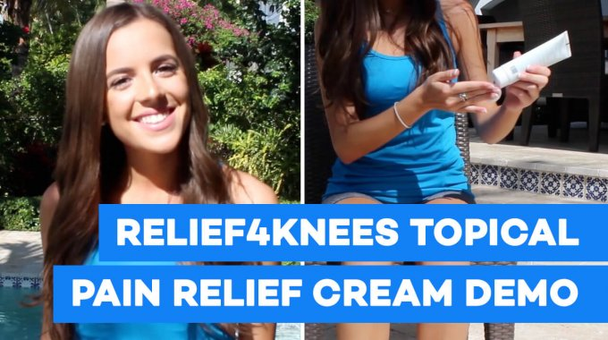 Relief4Knees Topical Pain Relief Cream Demo Video