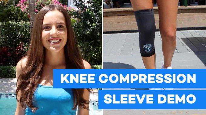 Knee Compression Sleeve Demo