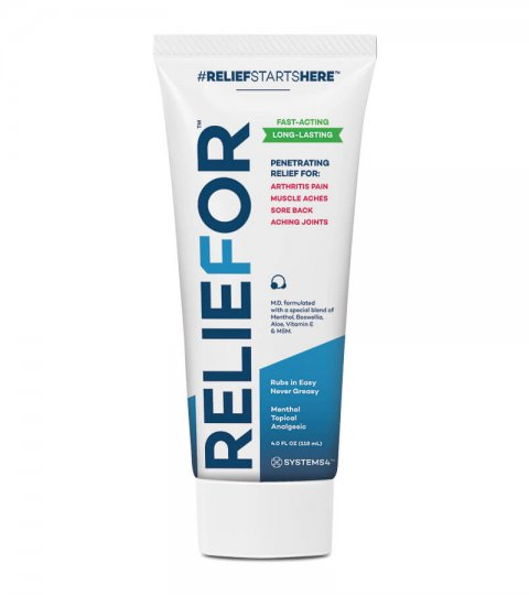 Reliefor –Penetrating Topical Pain Relief Cream