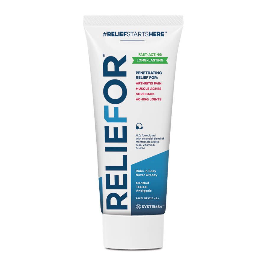 Reliefor – Penetrating Topical Pain Relief Cream